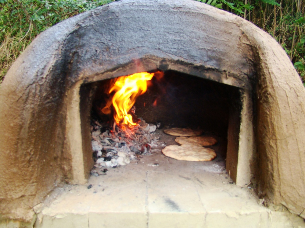 forno in terra cruda